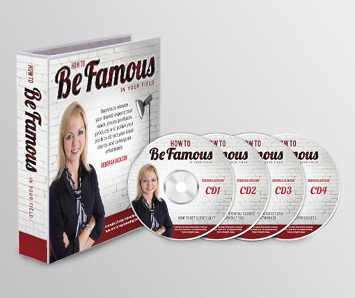 Be-Famous-Folder&CDs