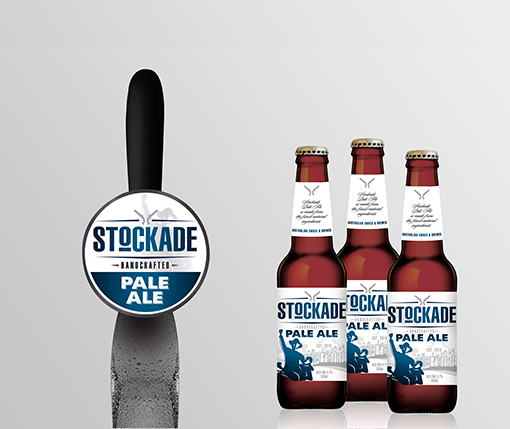 Bottle Label & Tap Decal - Stockade