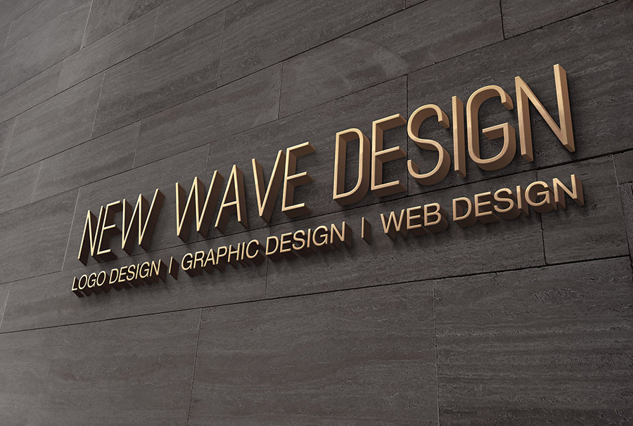 NEW WAVE DESIGN REBRAND