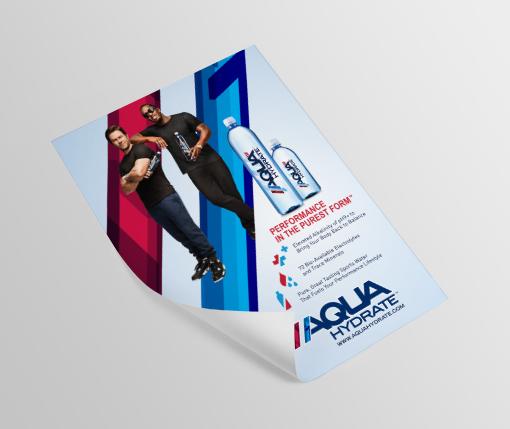 Aqua Hydrate Poster
