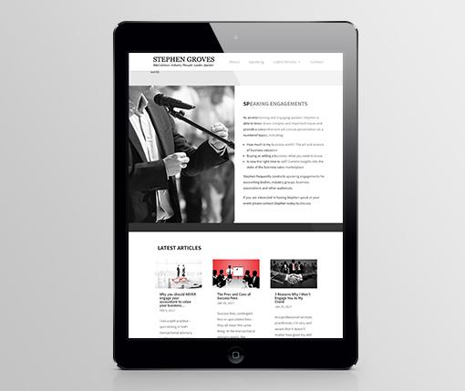 Stephen Groves Website M3
