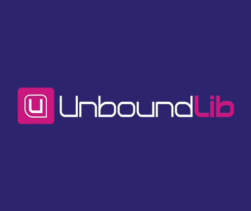 Unbound Lib Logo Reversed