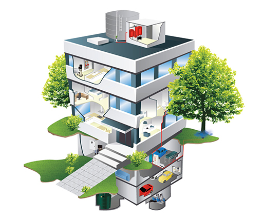 aline-pumps-plumbing-brochure-illustration