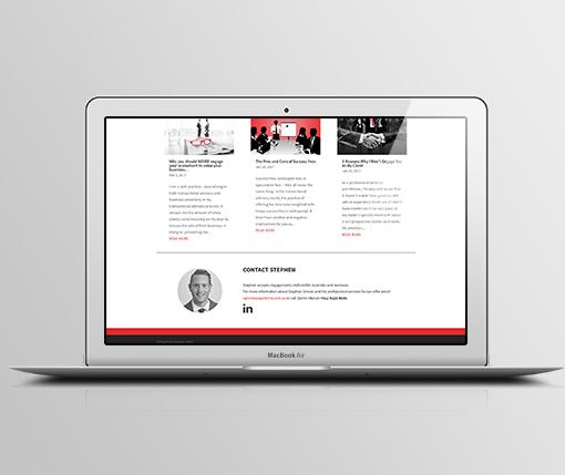 Stephen Groves Website M4